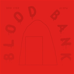 BON IVER, blood bank (10th anniversary edition) cover