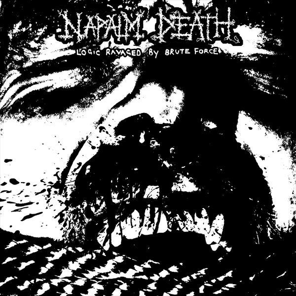 NAPALM DEATH, logic ravaged by brute force cover