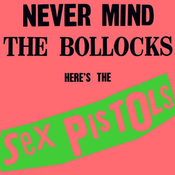 SEX PISTOLS, never mind the bollocks (syeor pink) cover