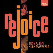 TONY ALLEN & HUGH MASEKELA, rejoice cover