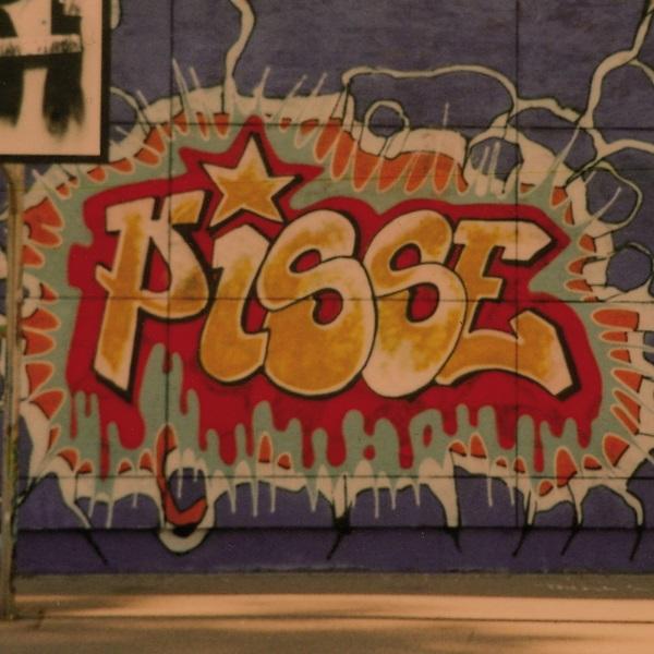PISSE, s/t cover