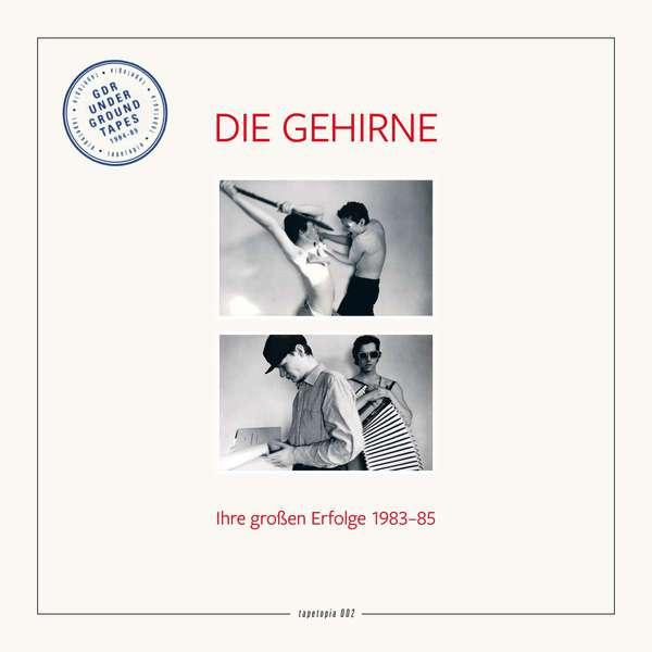 DIE GEHIRNE, tapetopia 002: ihre großen erfolge 1983-85 cover