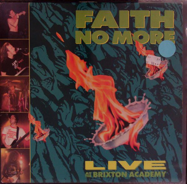 FAITH NO MORE, live at the brixton academy (USED) cover
