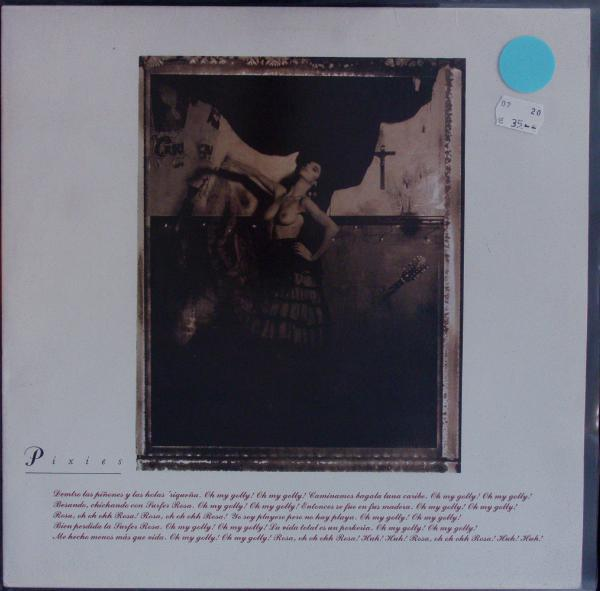 PIXIES, surfer rosa (USED) cover