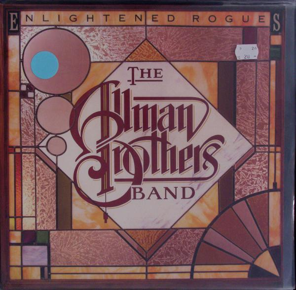 THE ALLMAN BROTHERS BAND, enlightened rogues (USED) cover