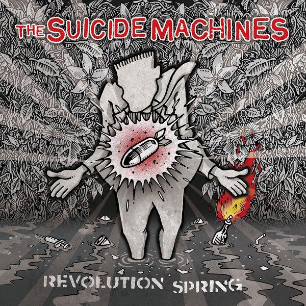 SUICIDE MACHINES, revolution spring cover