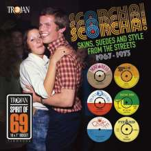 V/A, scorcha! - skins, suedes and style from the street cover