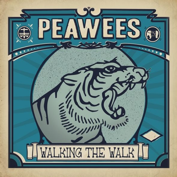 PEAWEES, walking the walk cover