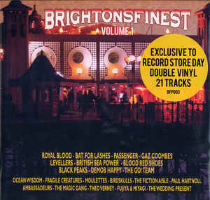 V/A, brightons finest volume 1 cover
