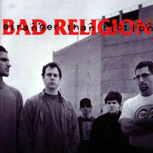 BAD RELIGION, stranger than fiction cover