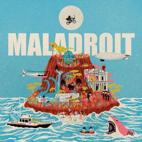 MALADROIT, steven island ep cover
