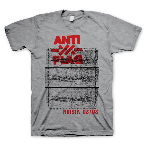 ANTI-FLAG, 20/20 vision (boy) heather gray cover