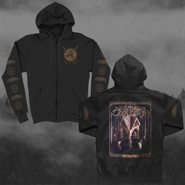 WOLVES IN THE THRONE ROOM, thrice woven (boy) zip hood cover
