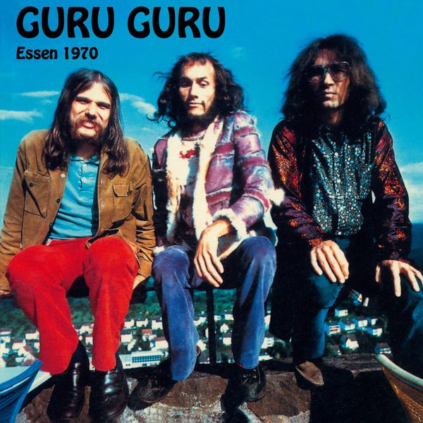 GURU GURU, live in essen 1970 cover