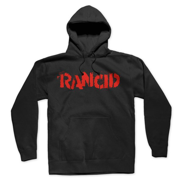 RANCID, logo (boy) black hoodie cover