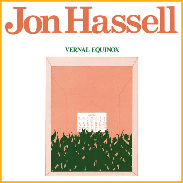 JON HASSELL, vernal equinox cover