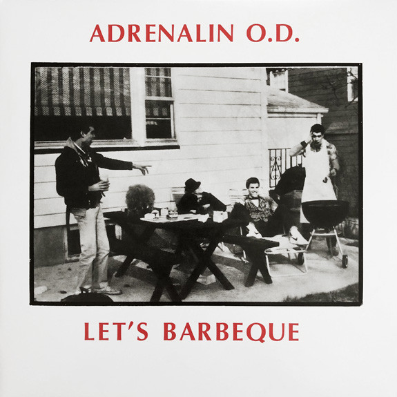 ADRENALIN O.D., let´s bbq cover