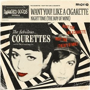 COURETTES, want you! like a cigarette cover