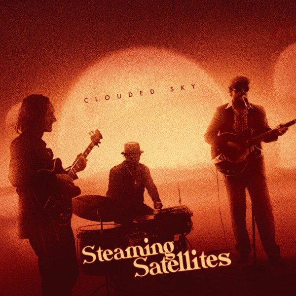 STEAMING SATELLITES, clouded sky-ep cover
