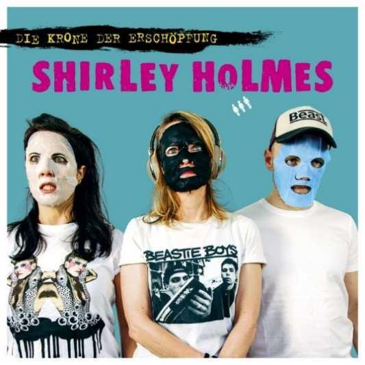 SHIRLEY HOLMES, die krone der erschöpfung cover