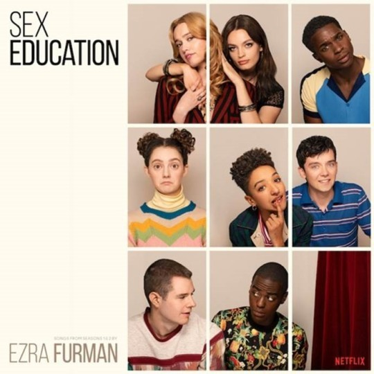 EZRA FURMAN, sex education - o.s.t. cover