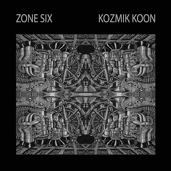 ZONE SIX, kozmik koon cover