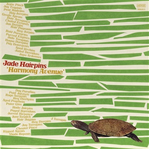 JADE HAIRPINS, harmony avenue cover