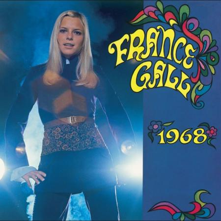 FRANCE GALL, 1968 cover