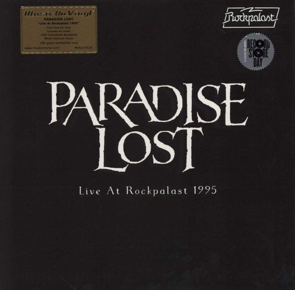 PARADISE LOST, live at rockpalast 1995 RSD20 cover