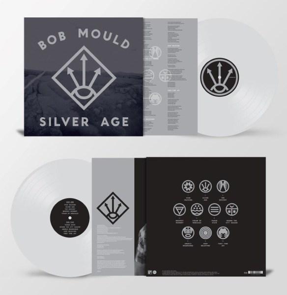 BOB MOULD, silver age (2020 edition) cover