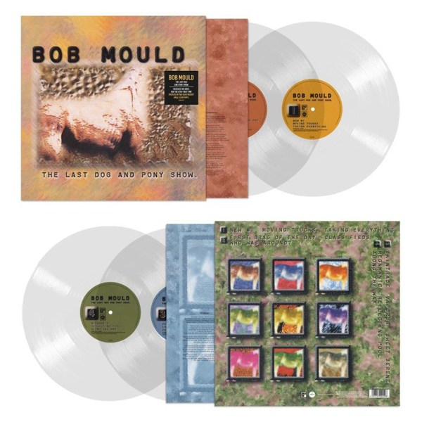BOB MOULD, the last dog and pony show (2020 edition) cover