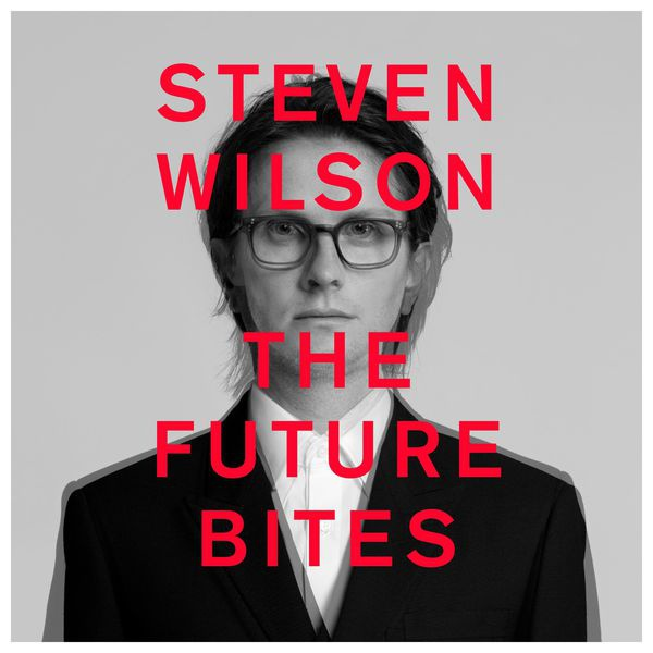 STEVEN WILSON, the future bites cover