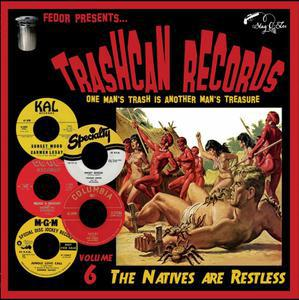 V/A, trashcan records 06 - the natives are restless cover
