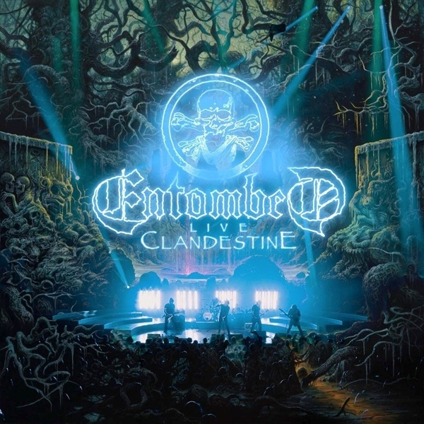 ENTOMBED, clandestine live cover