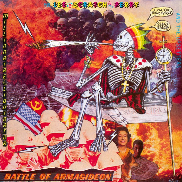 LEE SCRATCH PERRY, battle of armagideon cover