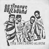 BUZZCOCKS, the 1991 demo album cover