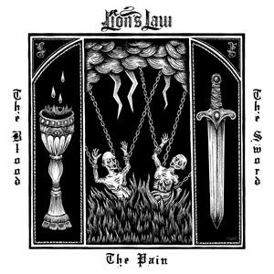 LION´S LAW, the pain, the blood and the sword cover