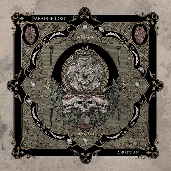 PARADISE LOST, obsidian cover