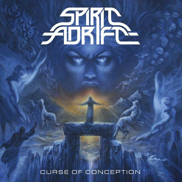 SPIRIT ADRIFT, curse of conception (2020 reissue) cover