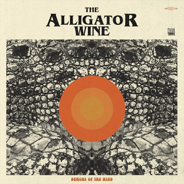 ALLIGATOR WINE, demon animal cover