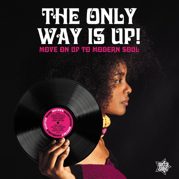 V/A, the only way is up - move on up to northern soul cover