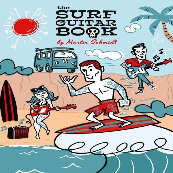 Martin Schmidt, surf guitar book cover