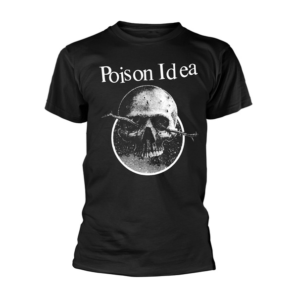 POISON IDEA, skull logo (boy) black cover