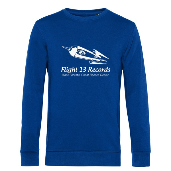 FLIGHT 13, rocket (sweater), royal blue cover