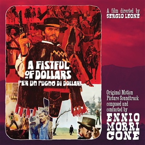 ENNIO MORRICONE, fistful of dollars cover