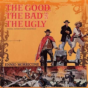 ENNIO MORRICONE, the good, the bad and the ugly cover