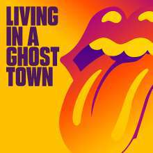 ROLLING STONES, living in a ghost town cover