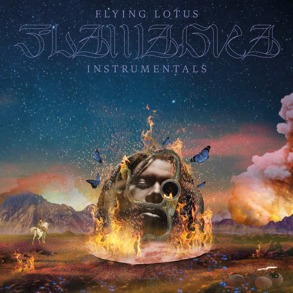 FLYING LOTUS, flamagra - instrumentals cover