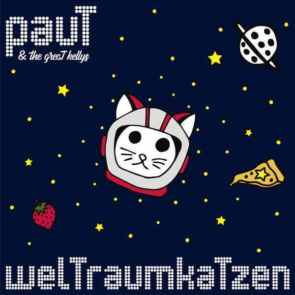 PAUT & THE GREAT KELLYS, weltraumkatzen cover