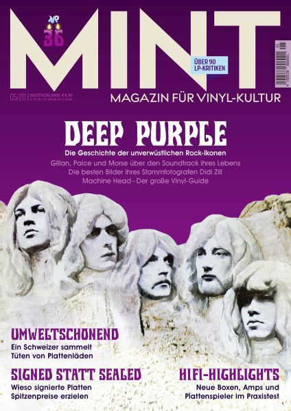 MINT, # 36 cover